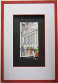 New York Stock exchange John Suchy 3-D-Popart