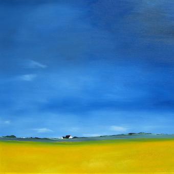 Blau Gelb w13100